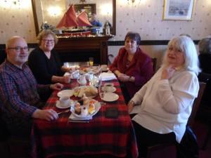 Andy, Eileen, Rita and Margaret enjoying the celebration!