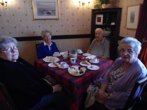 Mae, Sheila, Sheila and Vi from Elie