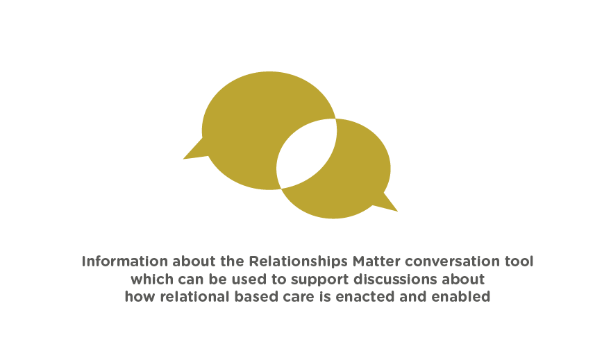Information about the relationships matter tool