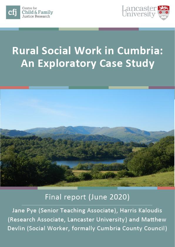 rural social work in cumbria cover