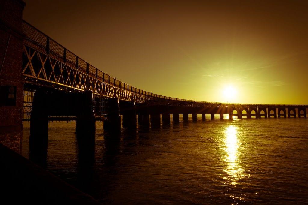 Tay bridge, Dundee