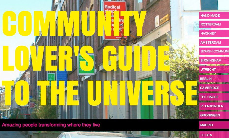 Community Lovers Guide to the Universe